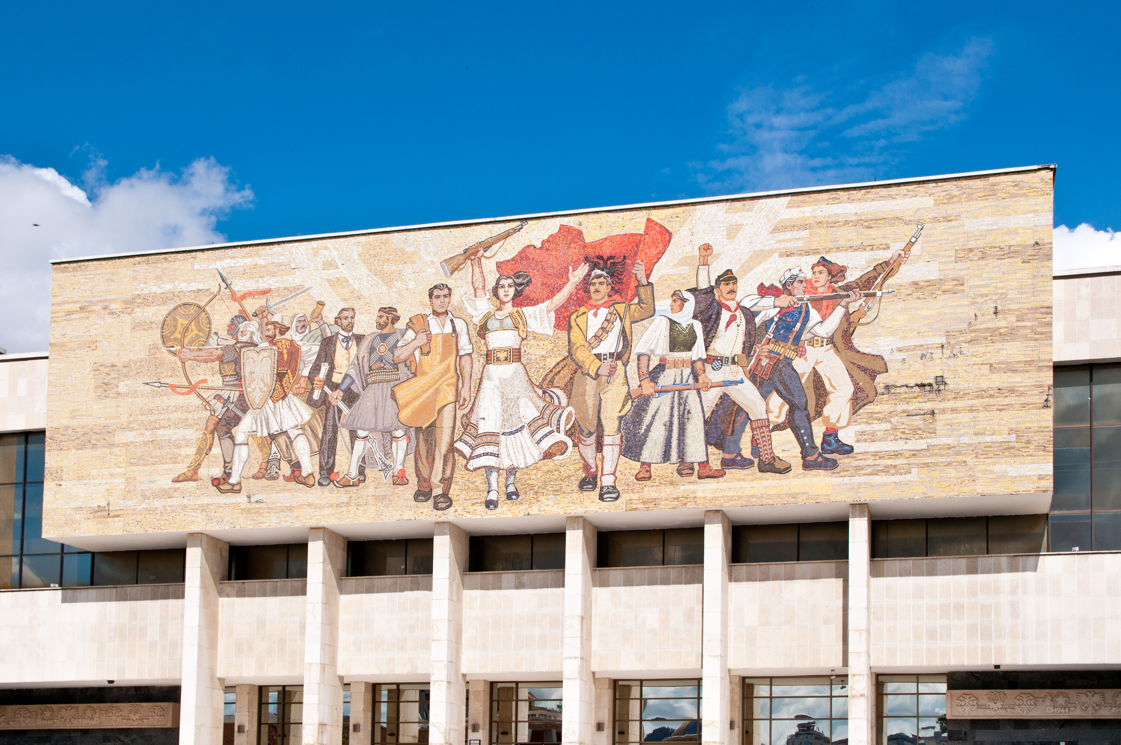 National Museum of History of Albania in Tirana