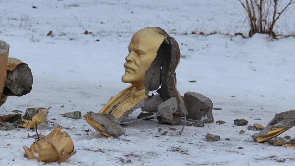 lenin destroyed